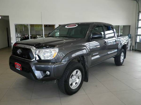 2013 TOYOTA TACOMA DOUBLE CAB only 13,248 miles