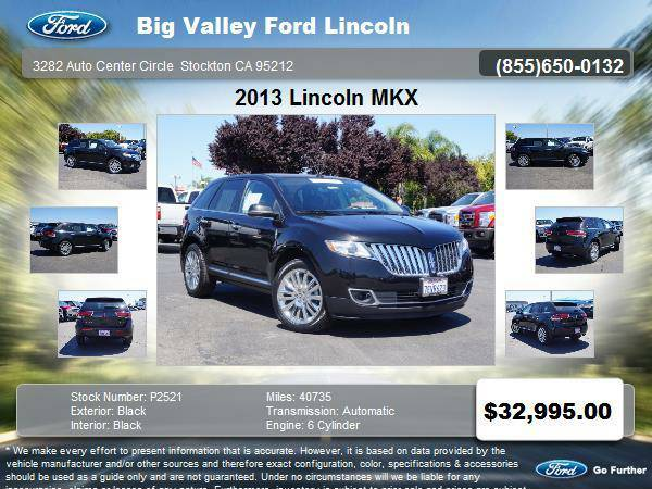 2013 Lincoln MKX 4dr SUV FWD 4DR SUV