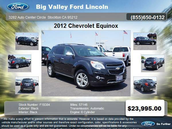 2012 Chevrolet Equinox AWD LTZ 4dr SUV LTZ