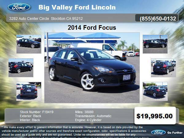 2014 Ford Focus Titanium 4dr Hatchback TITANIUM