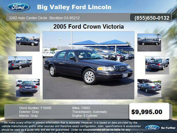 2005 Ford Crown Victoria LX 4dr Sedan LX
