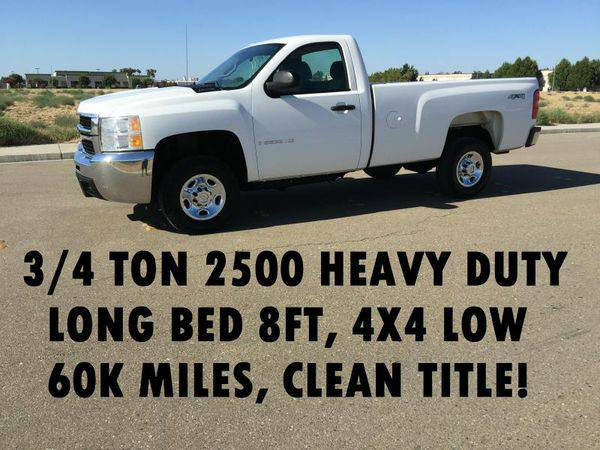 2009 *CHEVROLET* *SILVERADO* 2500HD HEAVY DUTY - LOW MILEAGE TRUCKS!