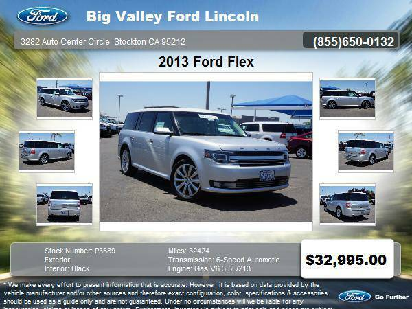 2013 Ford Flex Limited 4dr Crossover Limited