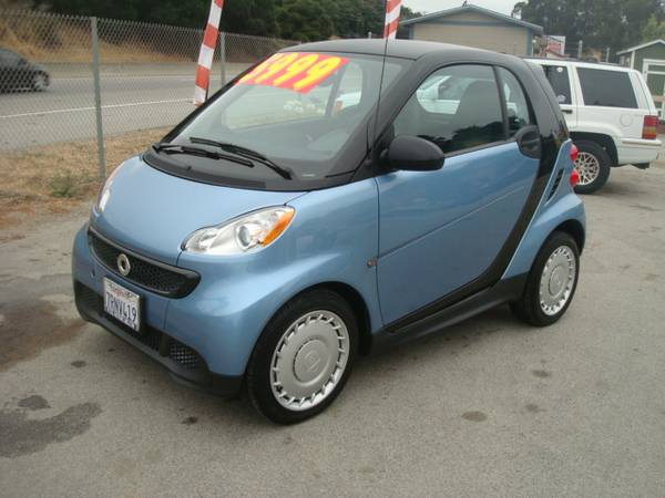 2013 SMART CAR FORTWO PURE HATCHBACK LOW MILES EXTRA CLEAN GAS SAVER