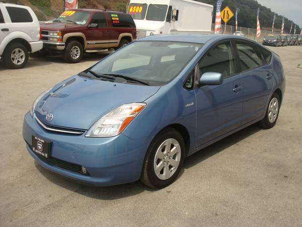 2007 TOYOTA PRIUS HATCHBACK ONE OWNER LOW MILES NICE AND CLEAN