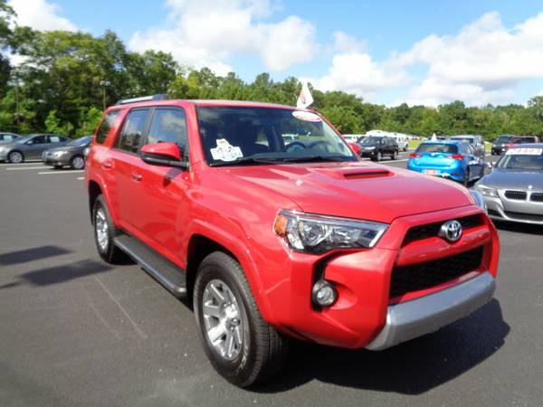 Certified: 2016 Toyota Stock 0016690A 4Runner 4x4 Trail 4dr SUV Trail