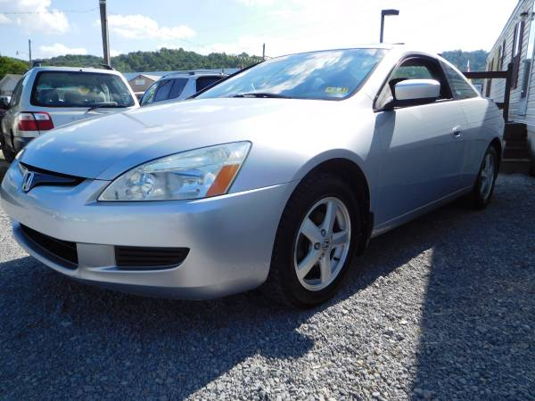 2005 HONDA ACCORD EX W/LEATHER 2 DR COUPE