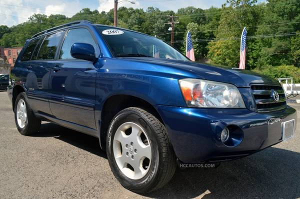 2007 Toyota Highlander* 4WD* 3RD ROW!*DEALER SERVICED*LEATHER*SUNROOF