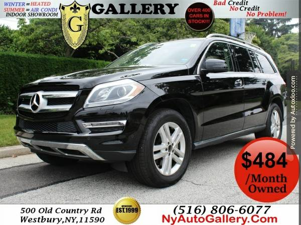 2014 Mercedes-benz Gl-class Gl450 4matic Easy Finance