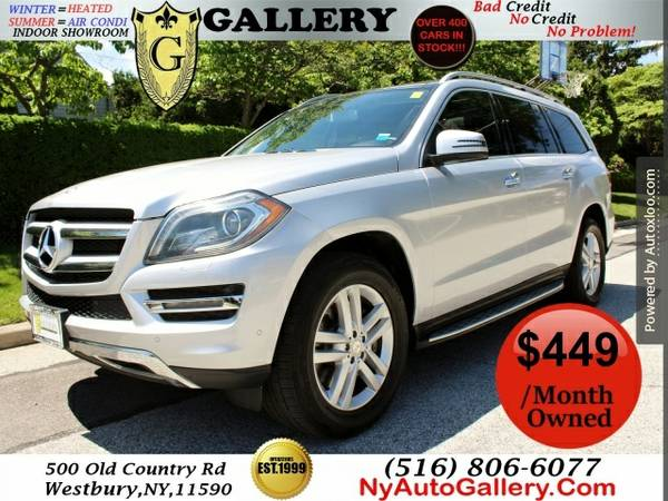 2013 Mercedes-benz Gl-class Gl450 4matic Easy Finance Bad credit, No c