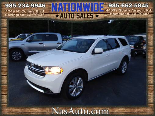 2012 DODGE DURANGO ** LOADED WITH FEATURES ** WE FINANCE **