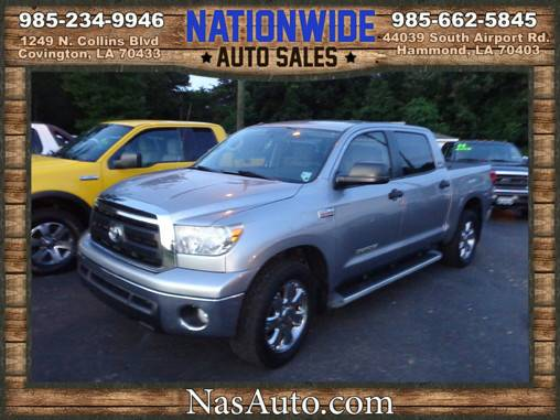 2010 TOYOTA TUNDRA CREW CAB ** LOW MILES ** 5.7 V8 ** WE FINANCE **