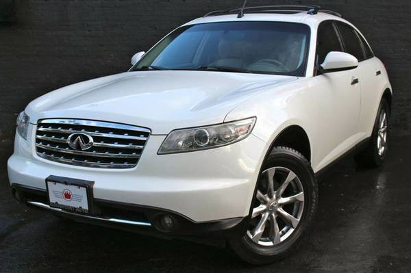 2008 INFINITI FX35 AWD WHITE! MINT! LOADED!