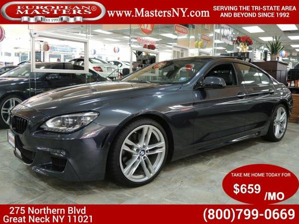 2015 BMW 6-Series 650i Xdriv Gran Coupe