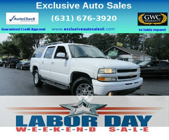 2005 Chevrolet Suburban Z71/LOADED/ONLINE APPROVALS 4 ALL/YES, EVEN U!