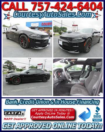 ★2015 Dodge Charger HELLCAT SRT!! * 2k MILES! * 6.2L -- Super...