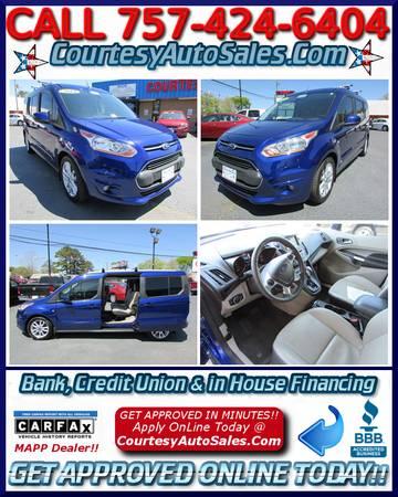 * 2014 Ford TRANSIT Connect! * 12k Mi! * 3rdROW! * NAV! * Rear CAMERA!