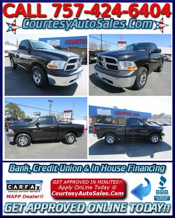 ** 2011 DODGE RAM! * Single-Cab w/ONLY 36,806 MILES! * SUPER-CLEAN!!