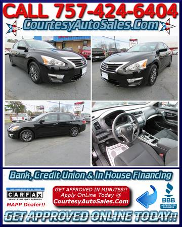 * 2015 Nissan ALTIMA! * 6,816 MILES! * Remote START! * Rear CAM!