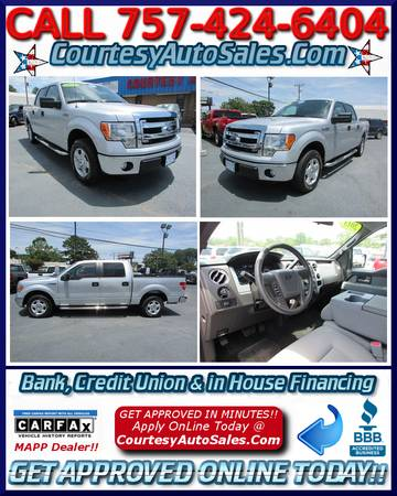 ** 2013 Ford F-150 SUPER-CREW! * Only 33,211 Miles! * Warranty!