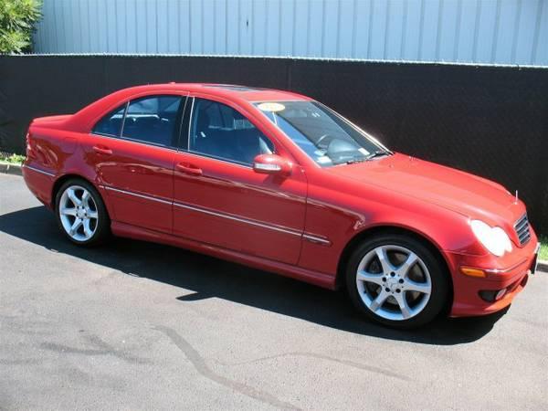 2007 Mercedes-Benz C230 2.5L Sport Red ===> WWW.AGAUTO.COM <===
