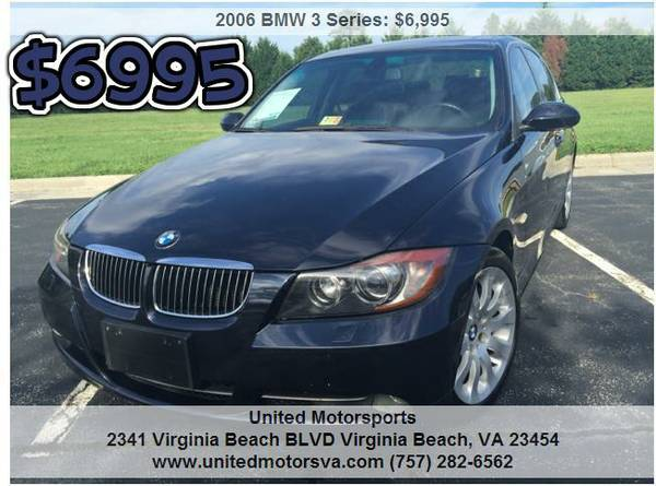 ___2006 BMW 330xi__AWD__CLEAN__CARFAX CERTIFIED