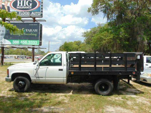 1997 Chevy Cheyenne 3500 Flatbed Former Government Vehicle Financing