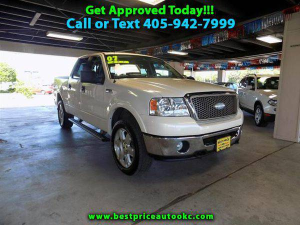 2007 *Ford* *F-150* *F 150* *F150* Lariat SuperCrew 4WD - Call or...