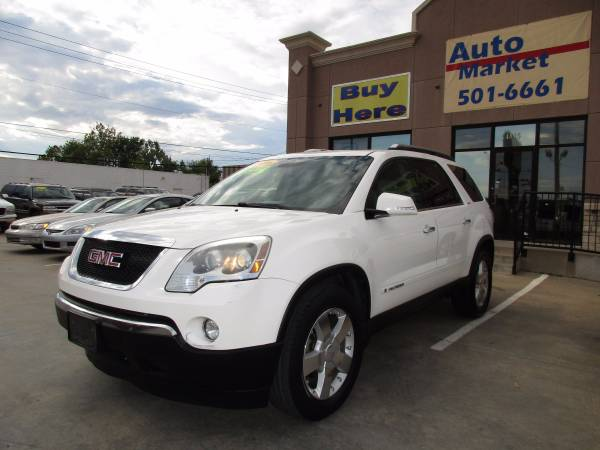 2008 GMC Acadia SLT - One Owner