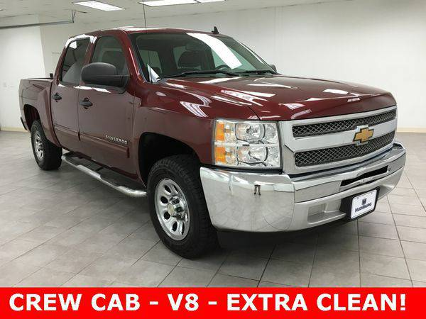 2013 *Chevrolet* *Silverado* *1500* LS - THE OKC PRICE LEADER!