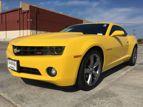 2012 CHEVY CAMARO!! RALLY SPORT!!! LEATHER LOADED WITH SUNROOF!!!