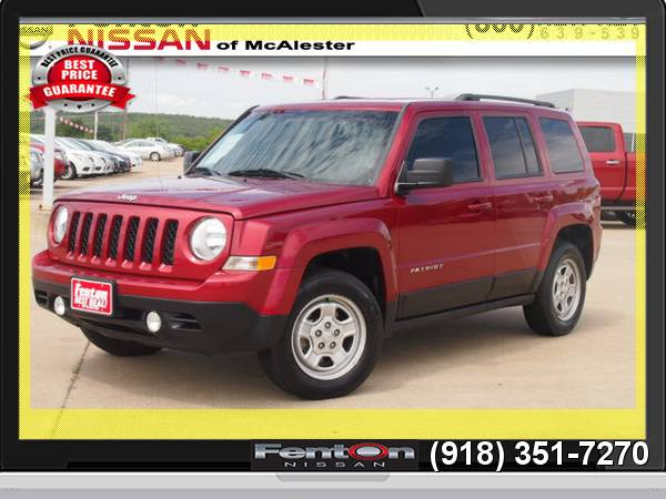 2013 Jeep Patriot Sport 24 Hour Liquidation! CALL NOW!