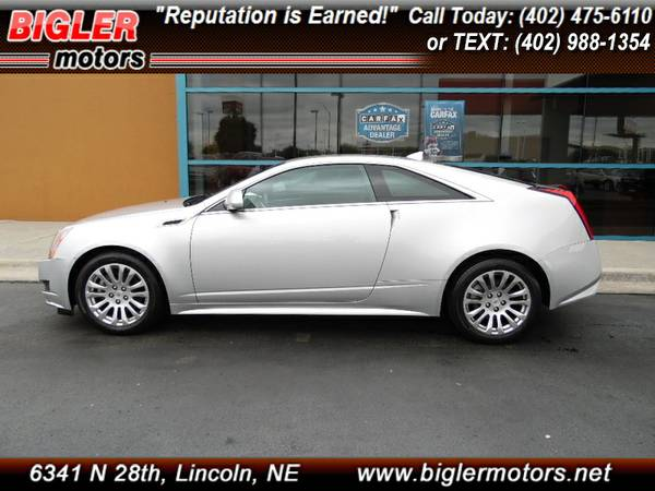 2013 Cadillac CTS Coupe - AWD! - 1-Owner! - Only 38k miles!
