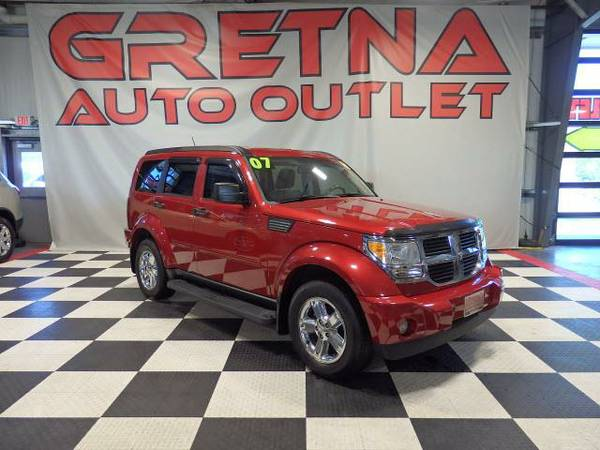 2007 Dodge Nitro SLT 4X4 HEATED LEATHER MOONROOF INFINITY 90K