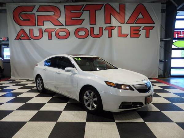 2012 Acura TL ONLY 58K HEATED LEATHER MOONROOF BLUETOOTH