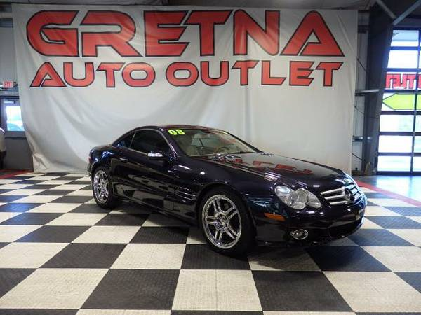 2008 Mercedes-Benz SL-Class SL550 LOADED UP COUPE NAV 70K DUAL ROOF