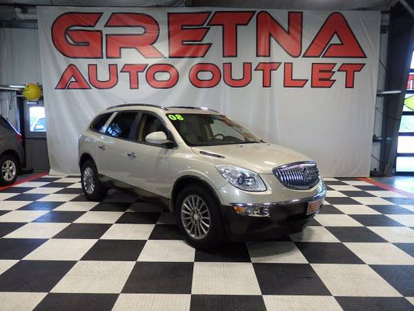 2008 Buick Enclave CXL AWD LEATHER QUADS DUAL ROOF REAR DVD BOSE