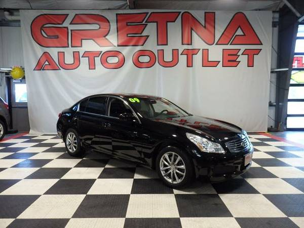 2009 Infiniti G37X With Navigation ALL WHEEL DRIVE ONLY 83K LEATHER MO
