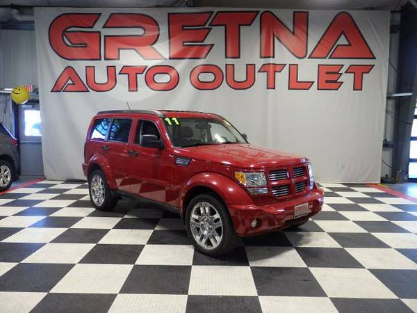 2011 Dodge Nitro HEAT 4X4 MOONROOF INFINITY SOUND ONLY 67K