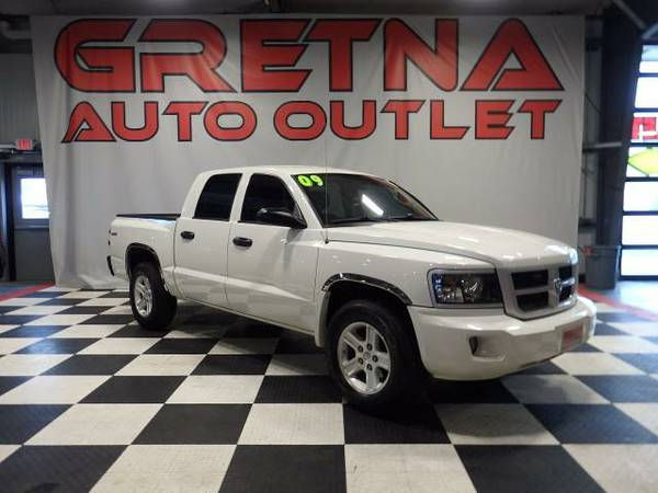 2009 Dodge Dakota BIG HORN EDITION CREW CAB 4X4 ONLY 82K SHARP