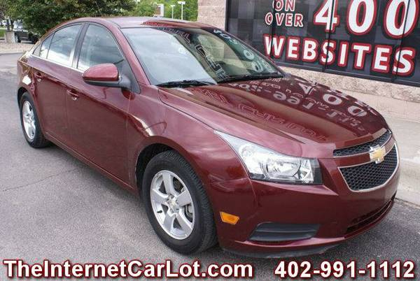 2015 CHEVROLET CRUZE LT AUTOMATIC TRANSMISSION BLUETOOTH BACK UP CAM