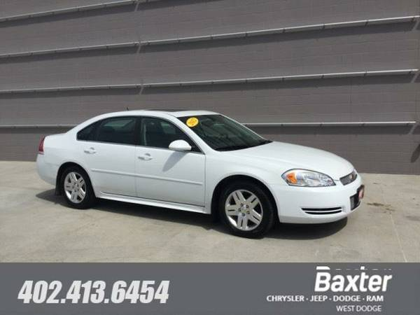 2012 Chevrolet Impala LT (Fleet Only) Sedan 1WG19