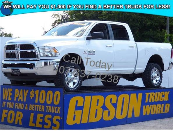 USED 2014 RAM 2500 CUMMINS DIESEL GIBSON FORD CHEVY DODGE TRUCK WORLD