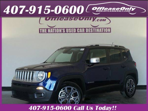 *2016* *Jeep* *Renegade* *Limited Fwd*