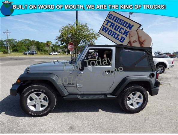USED 2014 JEEP WRANGLER GIBSON FORD CHEVY DODGE TRUCK WORLD