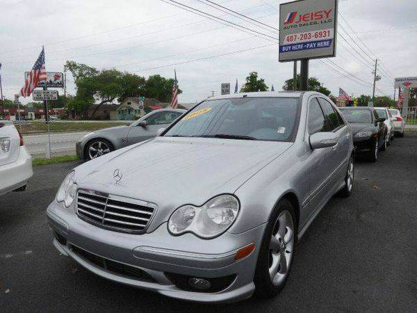 2005 *Mercedes-Benz* *C-Class* C230 K Sport Sedan -NO CREDIT CHECK...