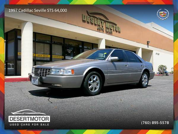 1997 Cadillac Seville STS 64,000 Miles Sedan - Clearly a better value!
