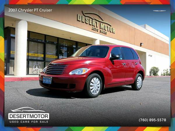 2007 Chrysler PT Cruiser LOW MILEAGE in EXCELLENT Condition