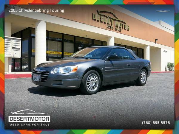 2005 Chrysler Sebring Touring Convertible - New LOW PRICE!