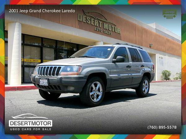 Dont miss this 2001 Jeep Grand Cherokee Laredo SUV!